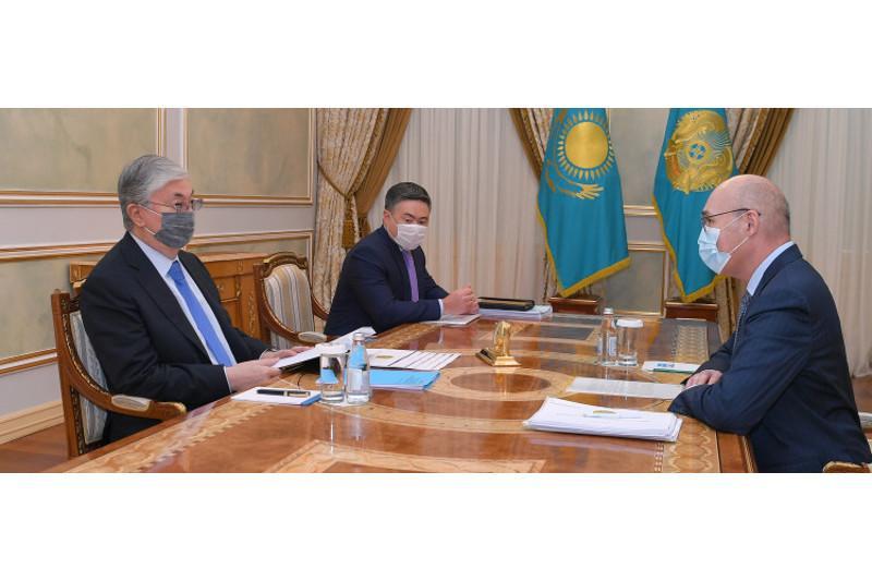 Tokayev receives Chairman of Agency for Strategic Planning and Reforms Kairat Kelimbetov