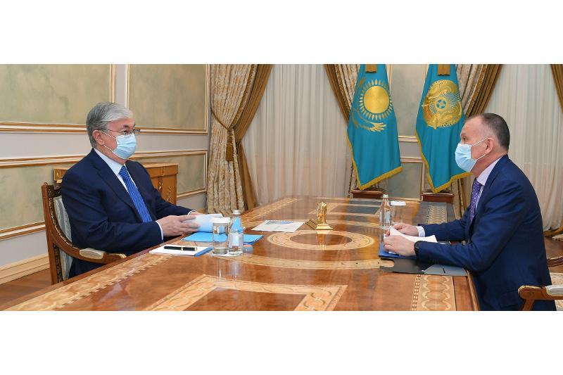 Глава государства принял председателя Центральной избирательной комиссии