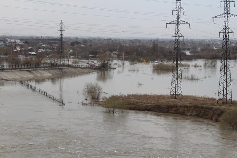 Паводок в СКО: ожидается выход реки Есиль в пойму в Петропавловске