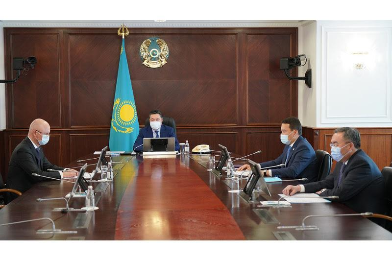 Kazakh PM chairs meeting of Council for Improving the Investment Climate