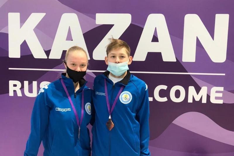 Карагандинки стали первыми в хайлайте на соревнованиях в Казани