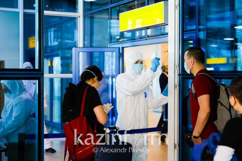 3,345 air passengers arrived in Kazakhstan with COVID-19 tests