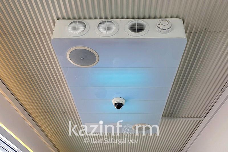Device killing more than 99% of viruses in air unveiled in Kazakh capital