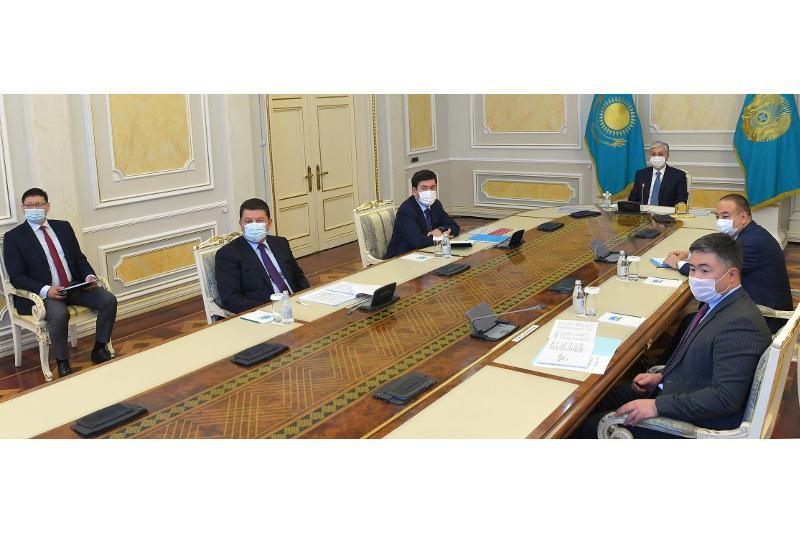 Head of State assigns to renovate Astrakhan-Mangyshlak water pipeline