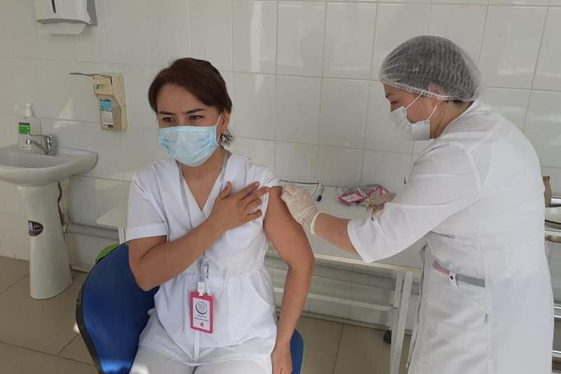 Over 21 thou received first COVID-19 vaccine dose in Kyzylorda rgn