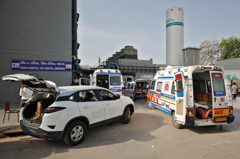 Үндістан бір күнде коронавирус жұқтырғандар саны бойынша әлемдік рекорд орнатты