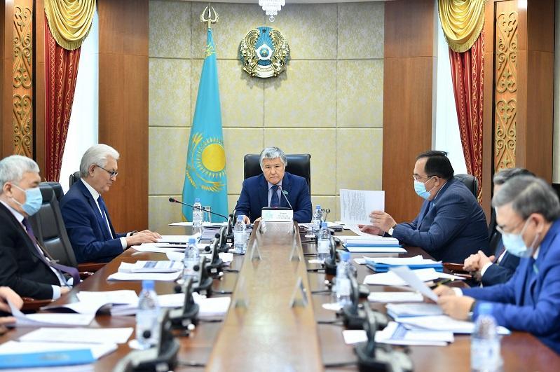 Senat «Tsıfrlyq Qazaqstan» baǵdarlamasynyń iske asyrylýyn talqylady