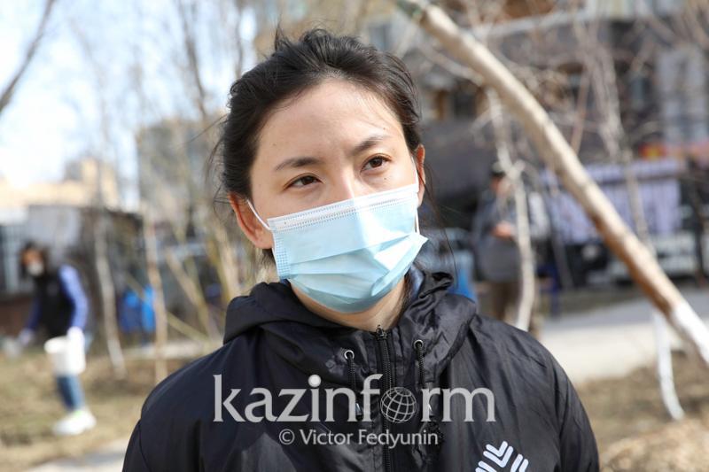 Астана волонтерлері үш күнде 1 мың отбасыға ауызашар себеттерін таратты