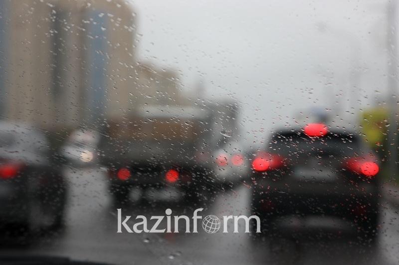 Туман, гроза, ветер: шторм прогнозируют в семи регионах Казахстана