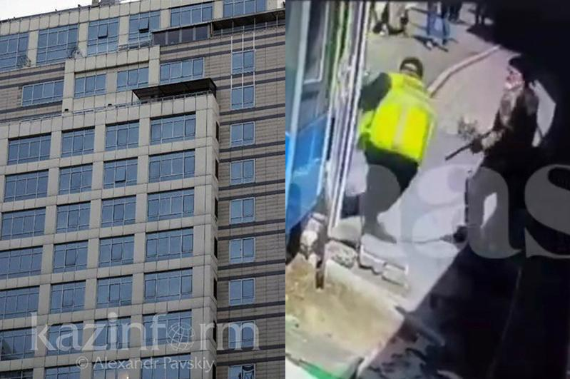 Алматинский стрелок стрелял в охранника из хулиганских побуждений