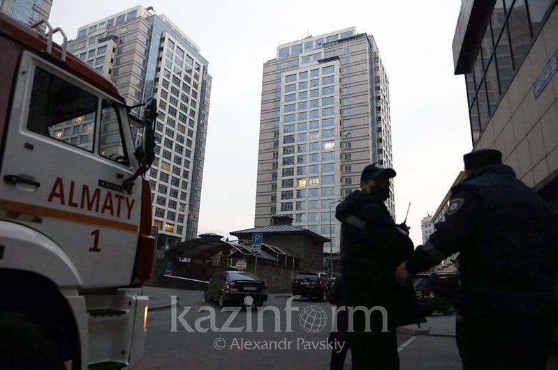 Полицейские о спецоперации в Алматы: Огнестрельное оружие не использовали