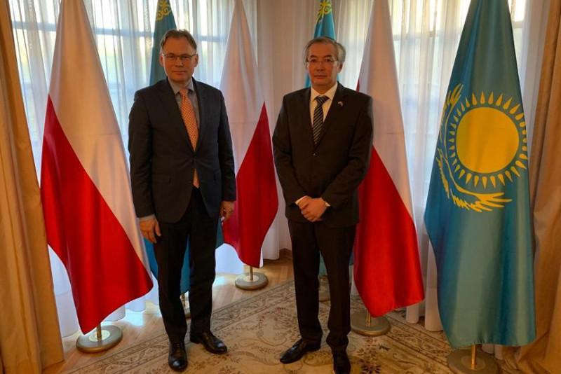 Казахстанско-польское межпарламентское сотрудничество обсудили в Варшаве