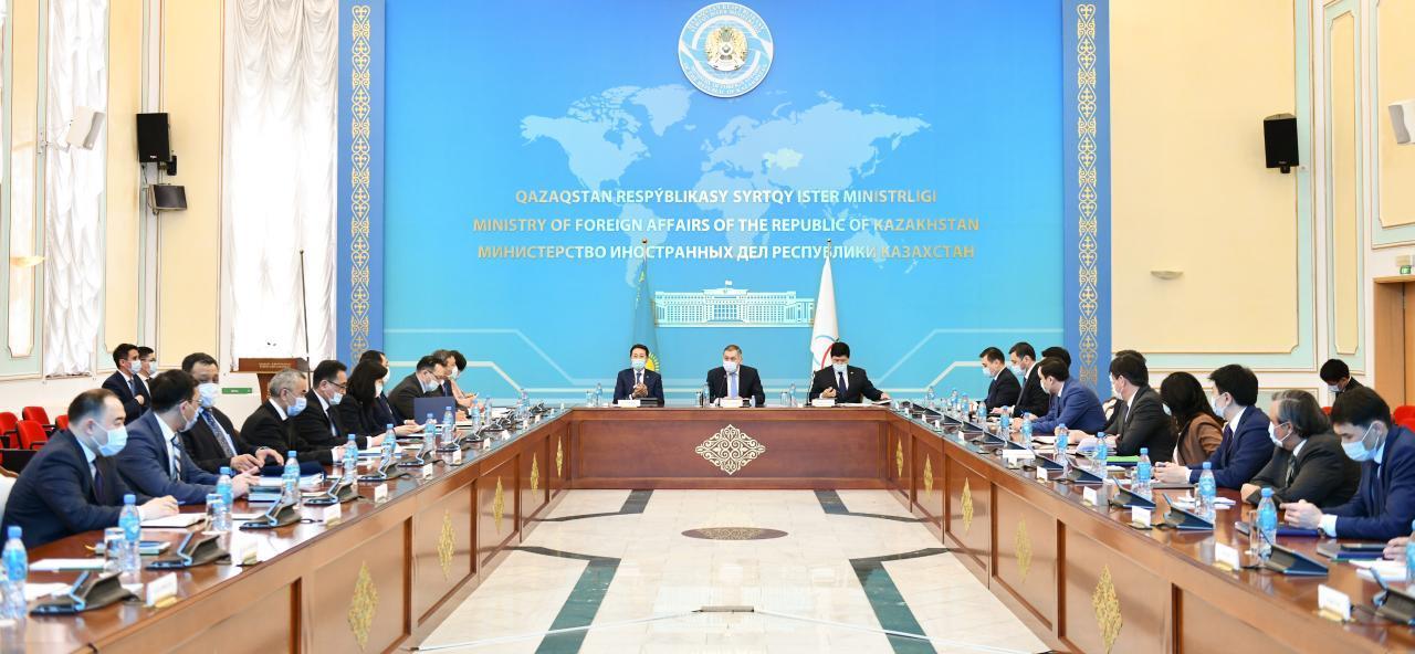 哈外交部召开亚信会议问题工作会议