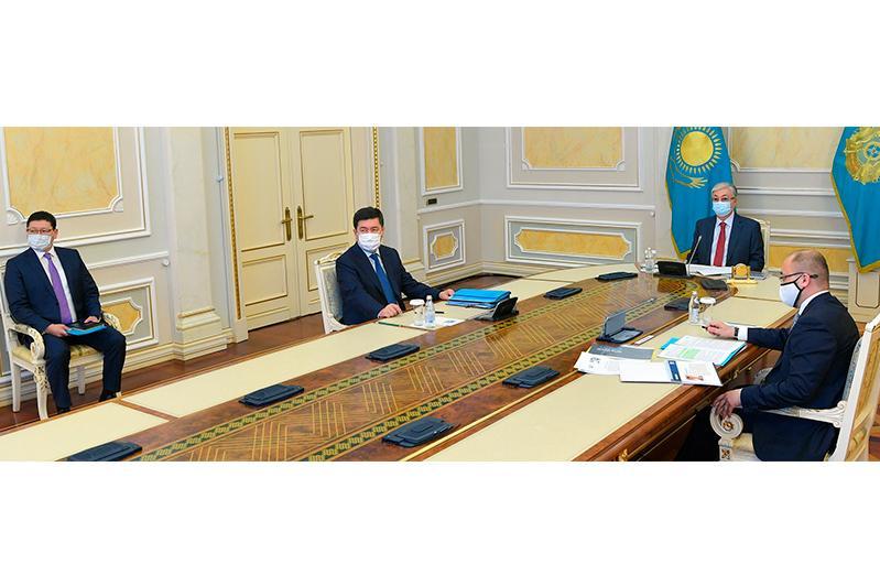 Глава государства принял участие во встрече с победителями проекта «100 новых лиц Казахстана»