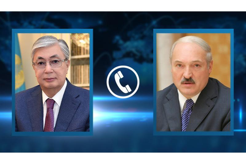 Presidents of Kazakhstan and Belarus had a telephone conversation