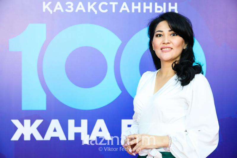 В каждом узоре есть своя философия - победительница проекта «100 новых лиц Казахстана»