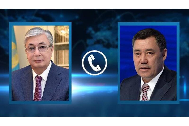 President Tokayev had telephone conversation with Kyrgyz counterpart