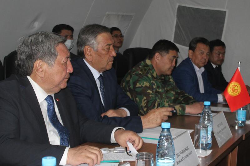 Кыргызстан и Таджикистан подписали совместный протокол по делимитации и демаркации госграницы