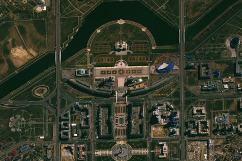 Первый снимок из космоса казахстанского спутника ДЗЗ был посвящен столице