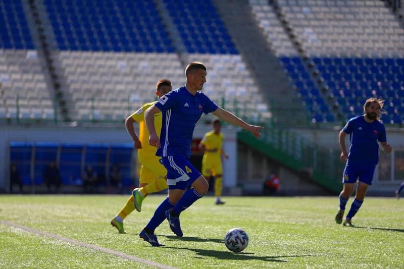 Футбол: Ковталюктың үш добы «Ақжайыққа» жеңіс әперді
