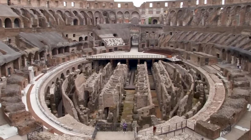 Римскому Колизею вернут арену