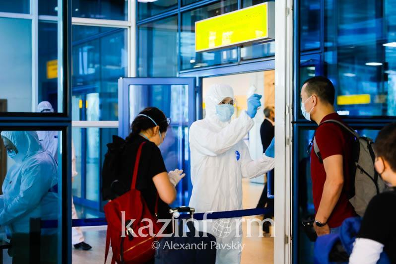У всех прибывших в Казахстан авиапассажиров были справки ПЦР
