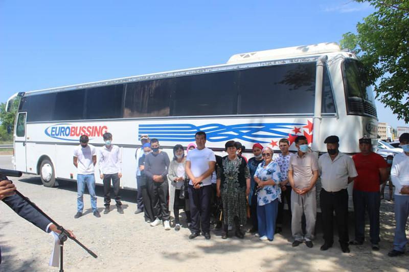 Түркістан облысының 45 тұрғыны солтүстік өңірлерімен танысу үшін жолға шықты