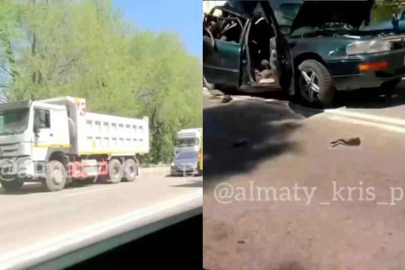 ДТП с грузовиком и легковым автомобилем в Алматинской области: погиб человек