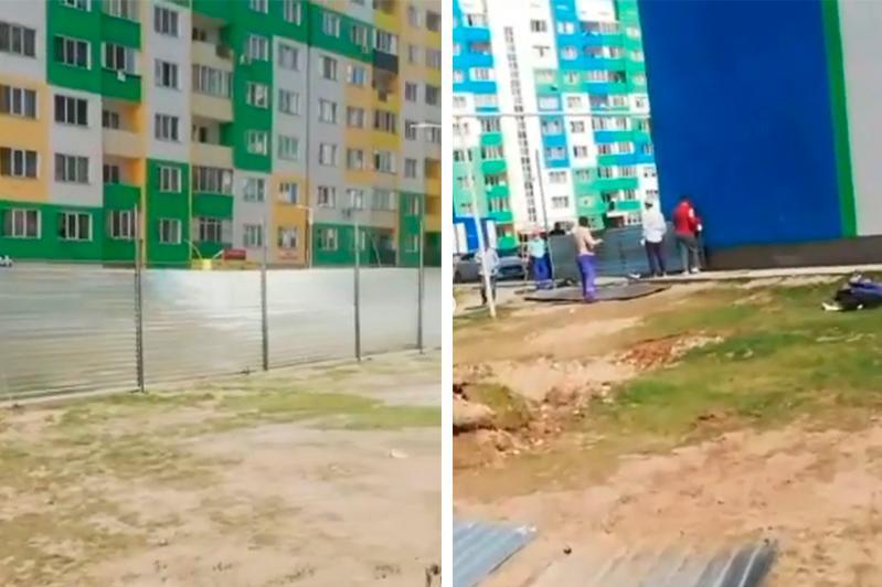 Алматинцы выступили против строительства «бизнес-центра» во дворе дома