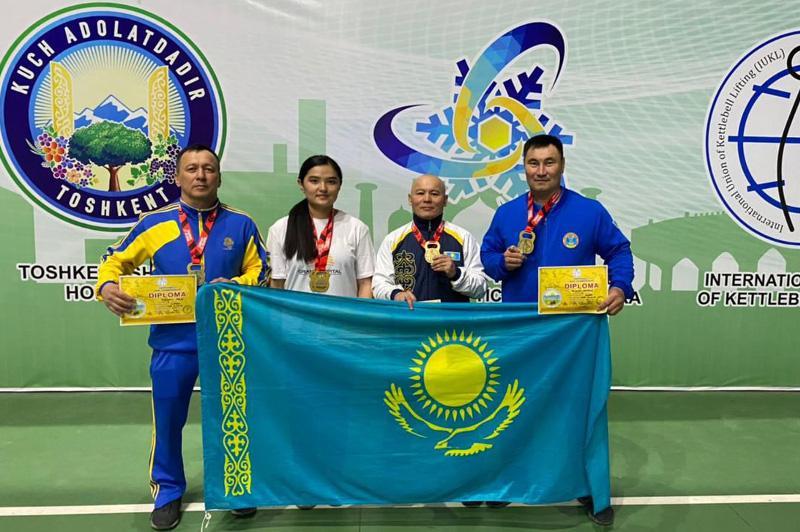 Казахстанский военнослужащий стал чемпионом Азии по гиревому спорту