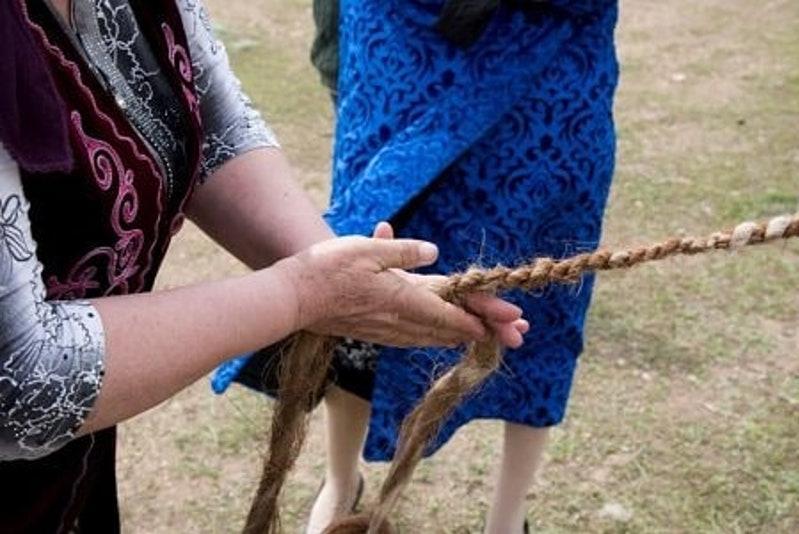 Ұлытауда өткен онлайн фестивальде туристер қазақ халқының салт-дәстүрімен танысты