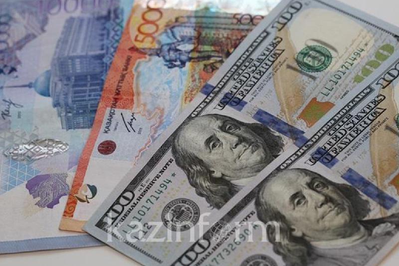 今日美元兑坚戈终盘汇率1: 428.72