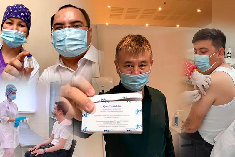 КВИ-мен күрес: QazVac вакцинасын алғандардың пікірі қандай