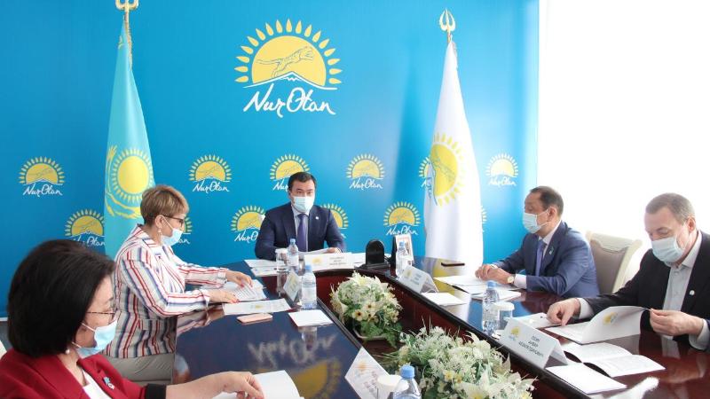 Общественные советы при партии Nur Otan заработают в Карагандинской области