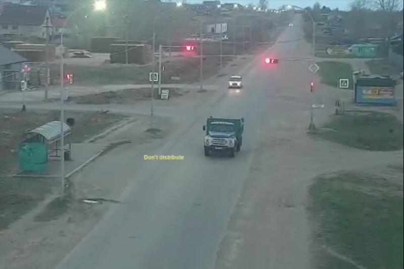 Угонщика грузовика несколько часов преследовали акмолинские полицейские