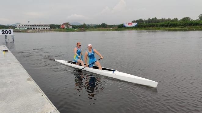 哈国获得双人皮划艇项目奥运入场券