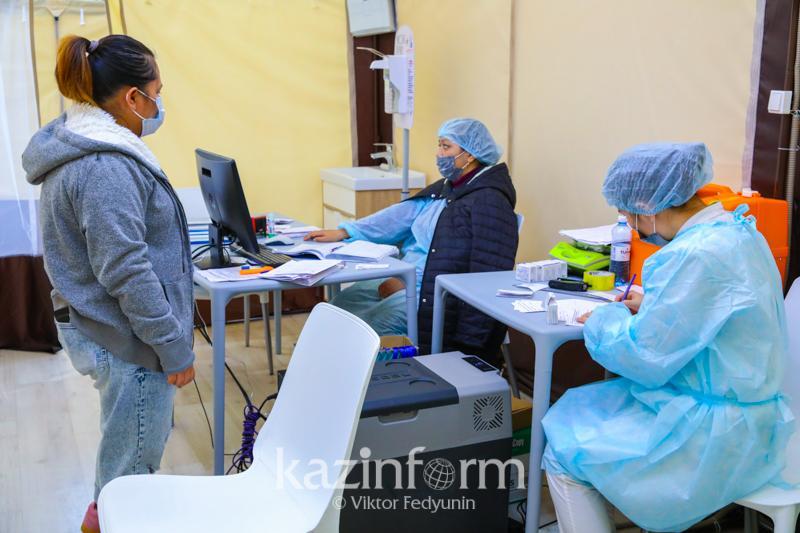 Қазақстанда коронавирусқа қарсы вакцина салдырғандар саны 1 486543 адамға жетті