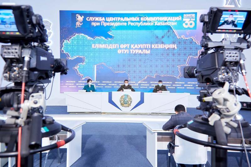 60 пожаров зарегистрировано в Казахстане с начала пожароопасного периода