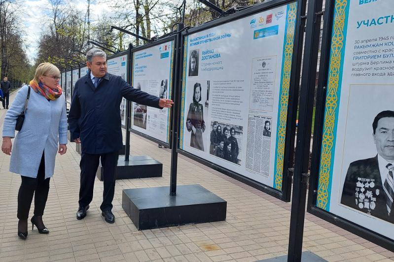 Посвященная 30-летию Независимости Казахстана фотовыставка проходит в Москве