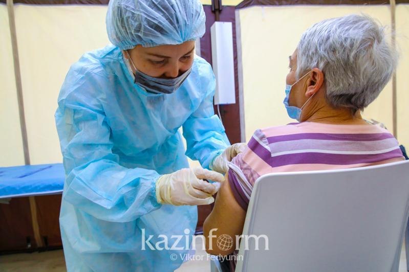Қазақстан вакцина алған азаматтар саны бойынша әлемде 57-орында тұр