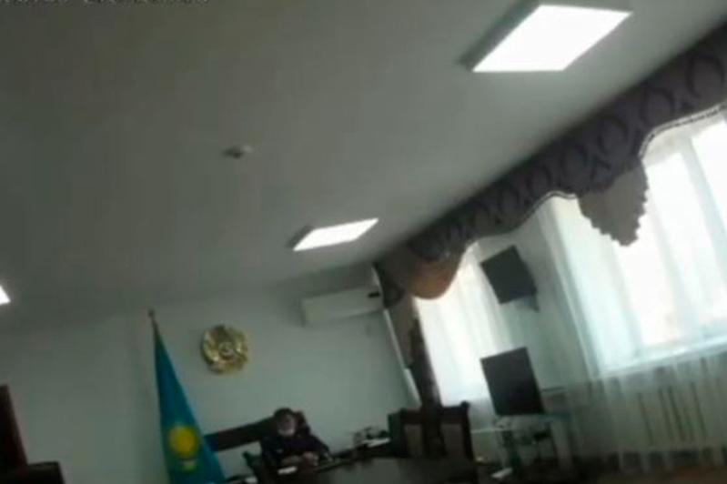 Almaty oblysynda Aqsý aýdanynyń polıtsııa basshysy daýly vıdeodan soń jumystan ketti
