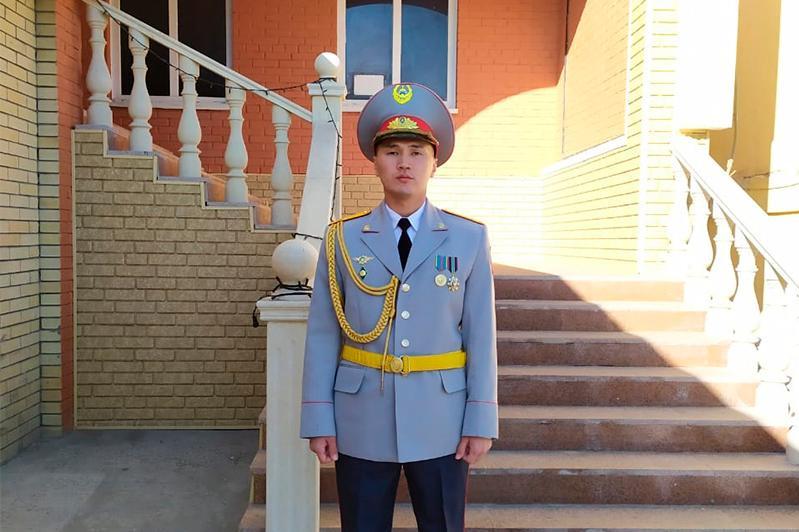 Детская мечта о службе в органах внутренних дел сбылась – сержант Берик Умурзаков