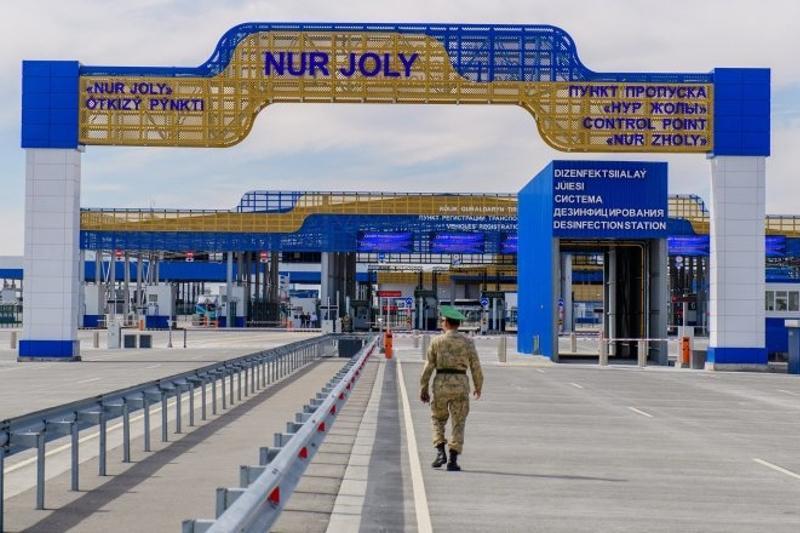 Пункт пропуска «Нур Жолы» на границе с КНР не будет работать 7 и 9 мая