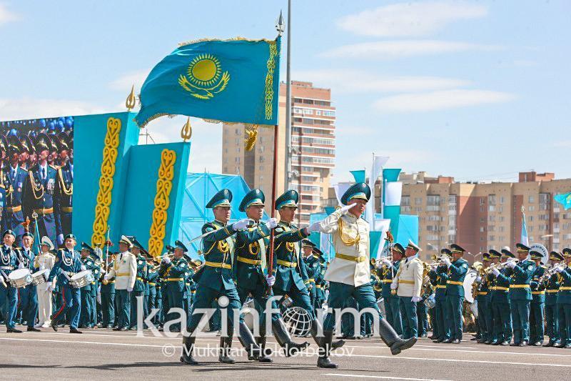 7 мая в Казахстане отмечается День защитника Отечества