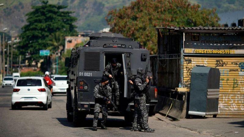 25 человек погибли в полицейском рейде против наркодельцов в Рио-де-Жанейро