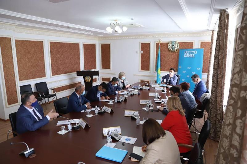 Члены НСОД рассказали мангыстауским общественникам о реализации президентских инициатив