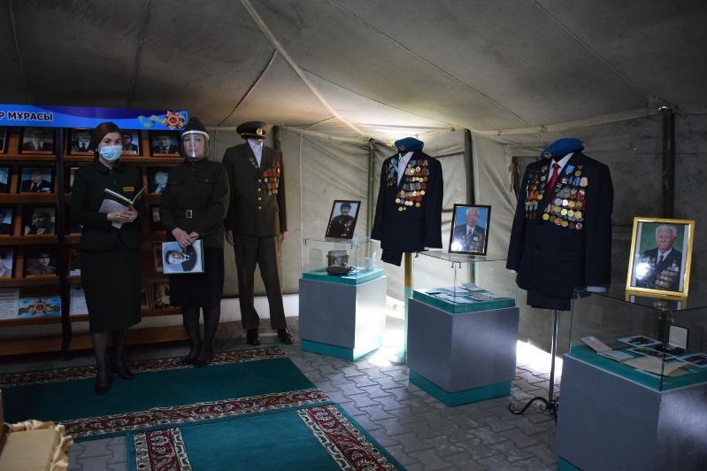 Ақмола облысында ашық аспан астында музей ұйымдастырылды