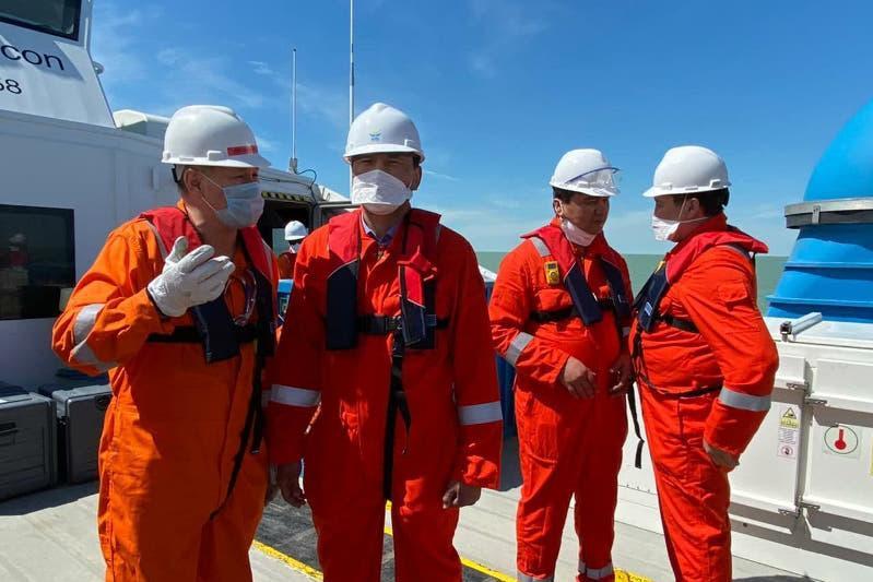 Каспий теңізіндегі тереңдету жобасын қоғамдық мониторинг бақылайды