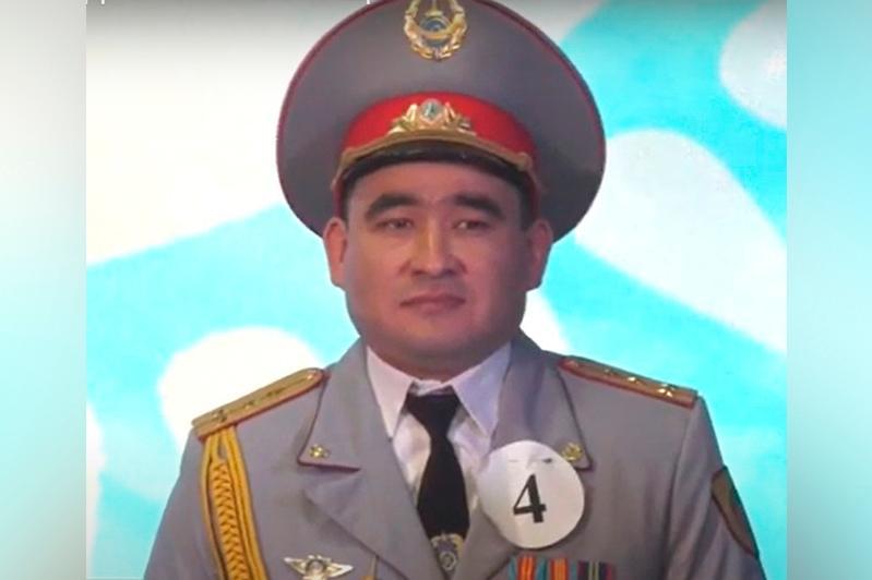 Лучшего военнослужащего выбрали в Акмолинской области