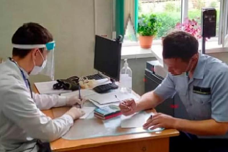 В Таразе начались прививки вакциной Нayat-Vax